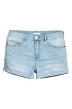 Shorts di jeans modello corto - Blu denim chiaro - DONNA | H&M IT 2